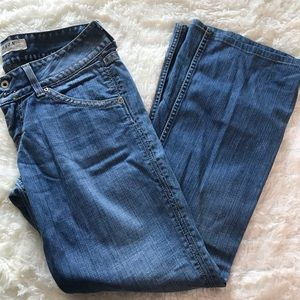 Hudson denim medium wash jeans size 30 flare style